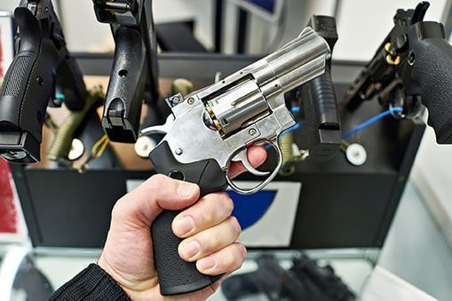 Revolver Stainless Steel
